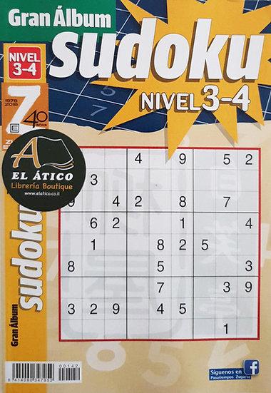 Sudoku gran álbum - Pasatiempos