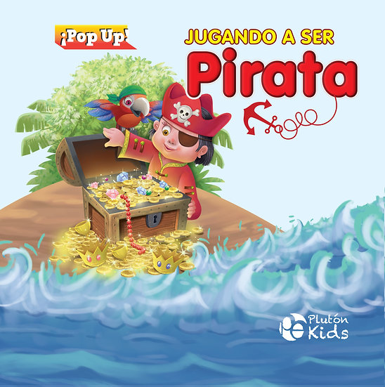 Jugando a ser pirata - pop up