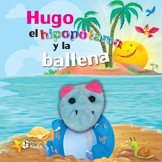 Hugo el hipopótamo y la ballena - títeres