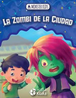 El zombie de la ciudad para niños