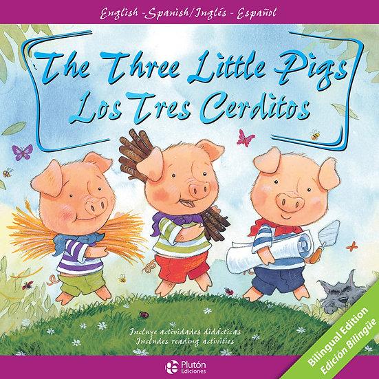 Los tres cerditos - bilingue inglés/español