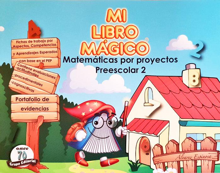 Matemática proyecto 2 - Mi libro mágico