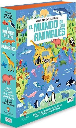El mundo de los animales - Libro + puzzle