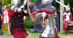 Un duello medievale.