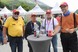 Alain, JC, Francis et Brian