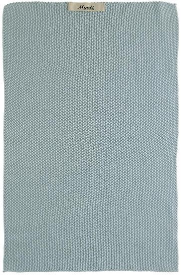 6352.IBL - Handtuch Latte gestrickt