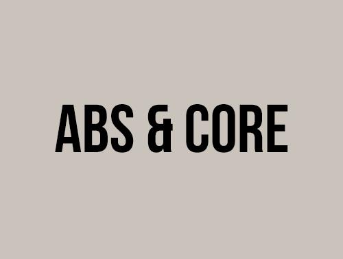 ABS & CORE - OKTOBER 2020
