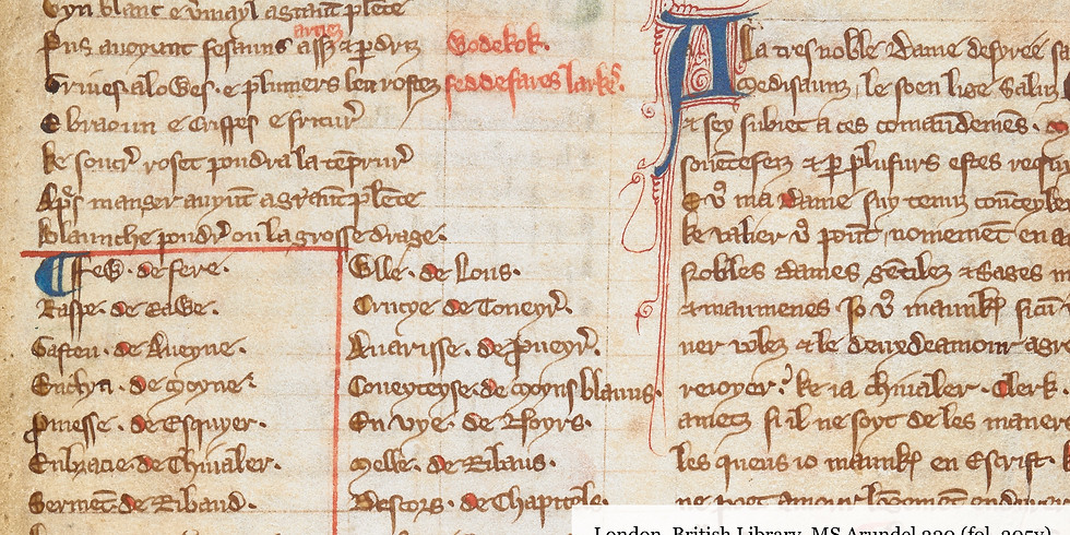 Networked French and Linguistic Identity in Medieval England