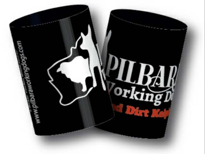 Pilbara Working Dogs Stubby Cooler