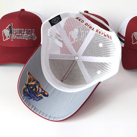 Jasper's Red Trucker Cap