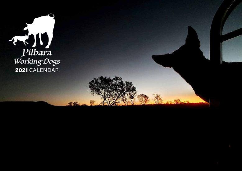 2021 Pilbara Working Dogs Calendar
