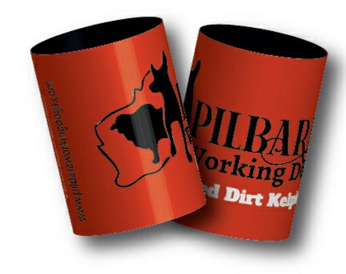 Pilbara Working Dogs Stubby Cooler