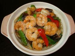 Shrimp with Glass Noodle