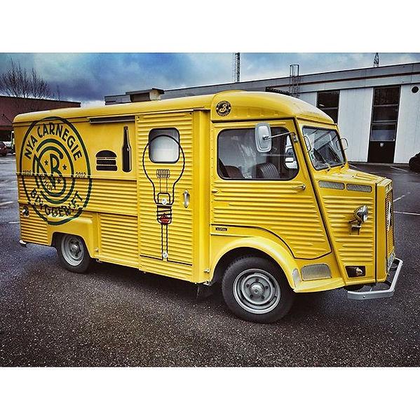 Food truck Stockholm Öl och hamburgare