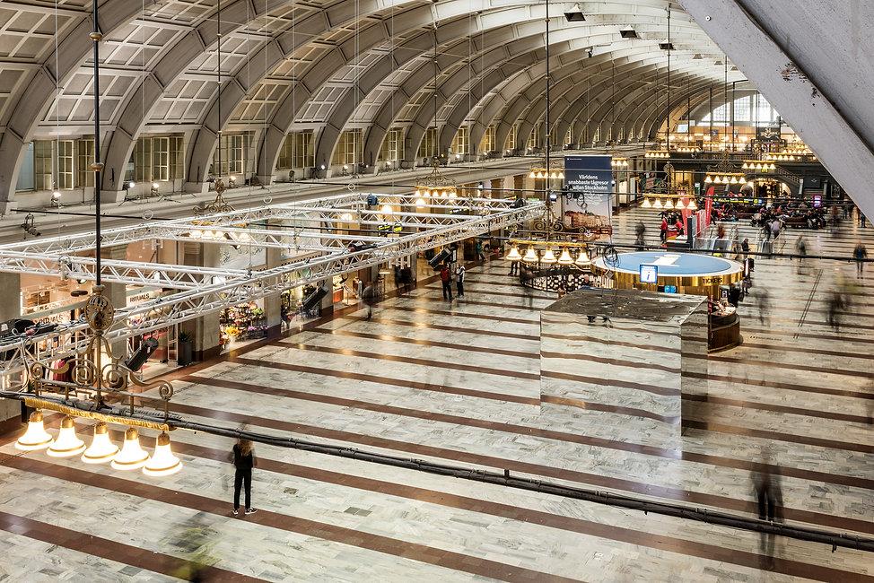 Spegelkub Stockholm Centralstation