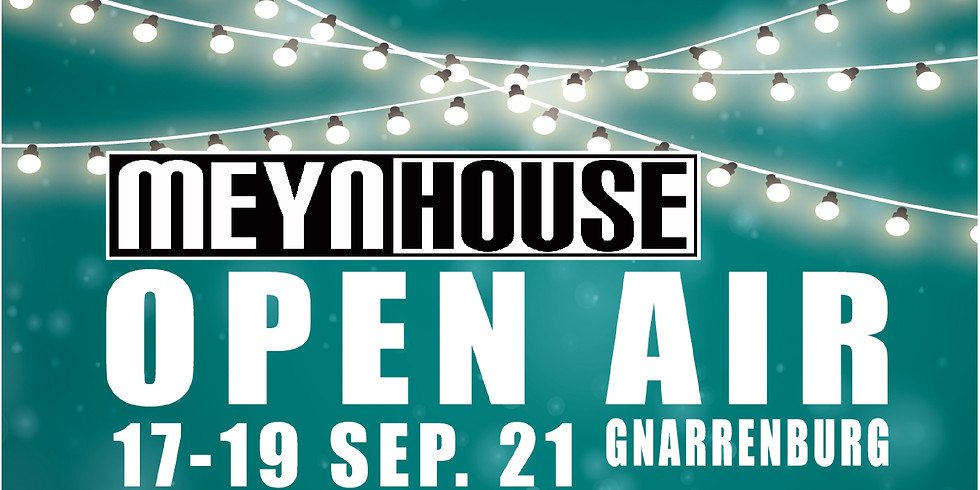 MEYNHOUSE OPEN AIR Public Viewing & Party 18.09.2021
