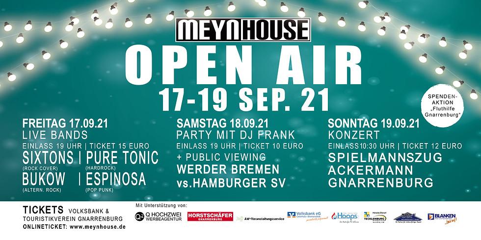 MEYNHOUSE OPEN AIR Frühschoppen-Konzert 19.09.2021