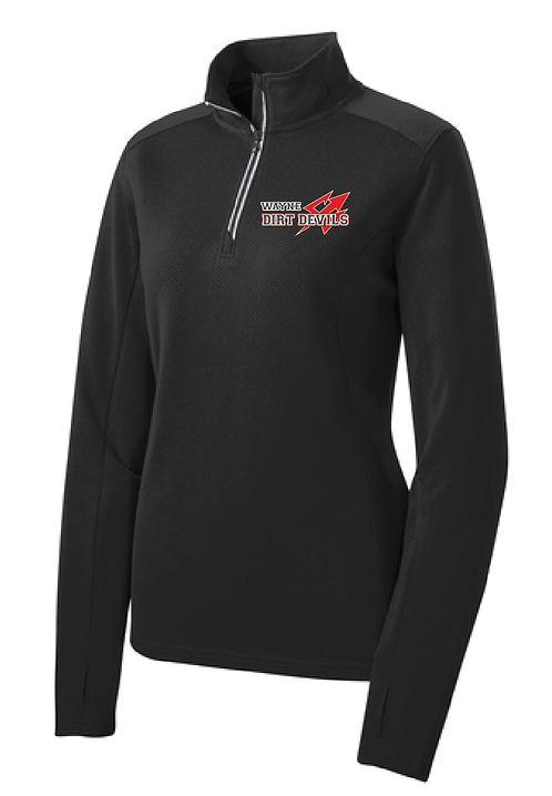 DD | Ladies Sport-Wick Textured 1/4 Zip