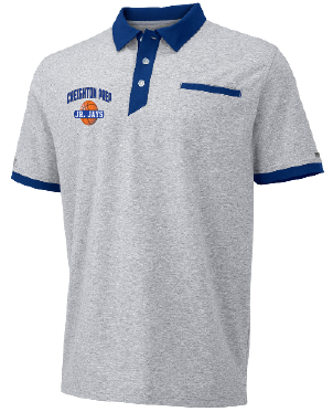 Men's Elite Polo | Oxford/Navy | EP2KHMK