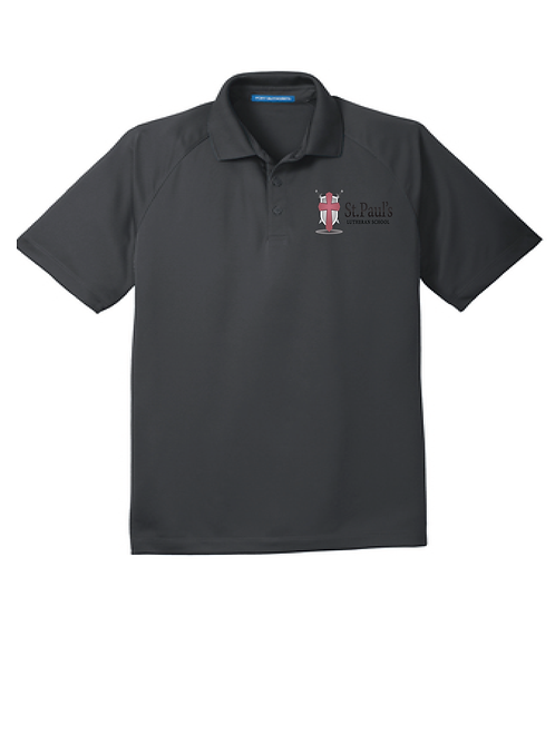 ADULT RAGLAN POLO | K575