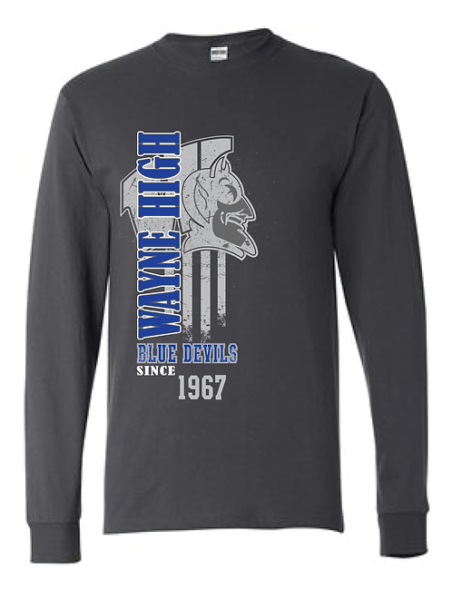 WAYNE HIGH | LONG SLEEVE T-SHIRT