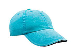 166 Anvil Solid Low-Profile Pigment-Dyed Twill Cap