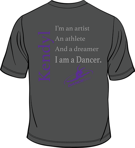 Dance ETC | DANCER-Short Sleeve Shirt