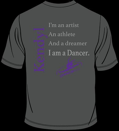 Dance ETC | DANCER-Short Sleeve Shirt