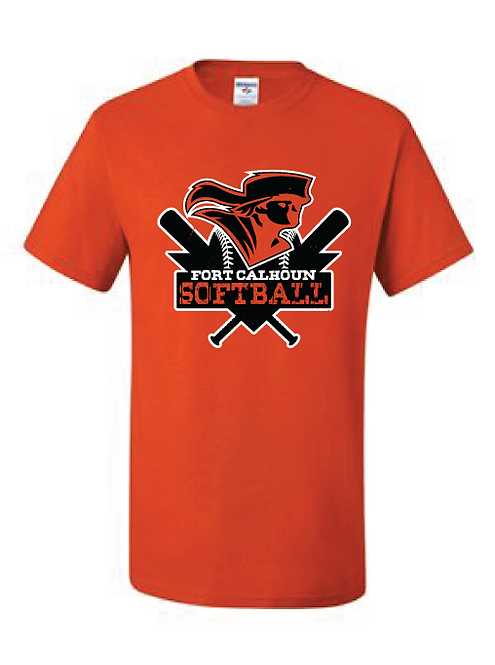 Short Sleeve T-Shirt  | Orange