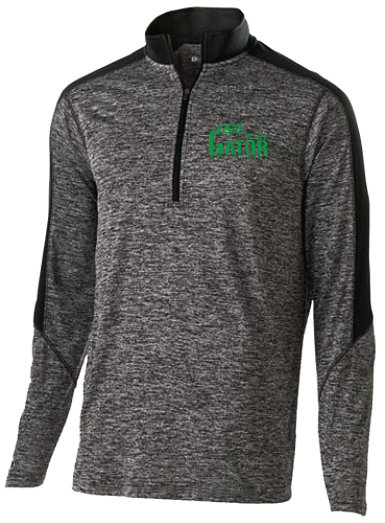 Adult Electrify 1/2 Zip Pullover | Kelly or Black