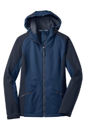 Port Authority® Ladies Gradient Hooded Soft Shell