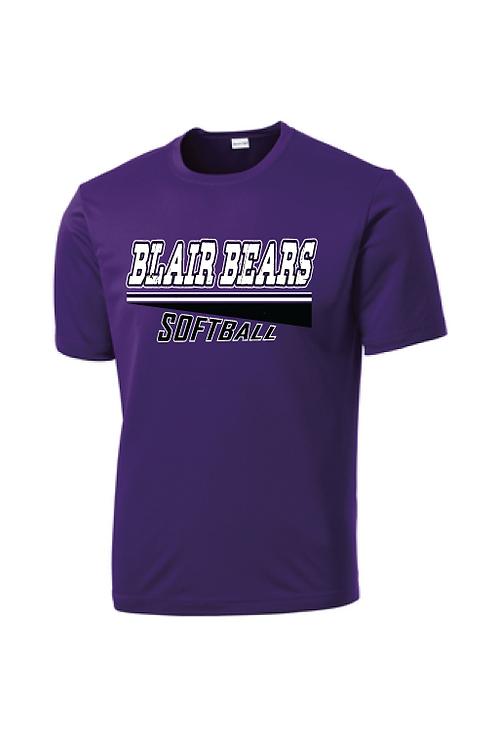 Item 3: Adult Short Sleeve Dri-Fit | Purple