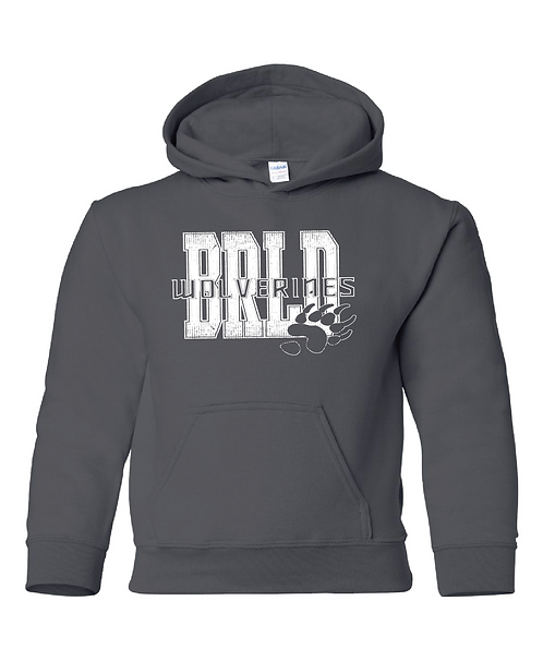 BRLD | Youth Hooded Sweatshirt