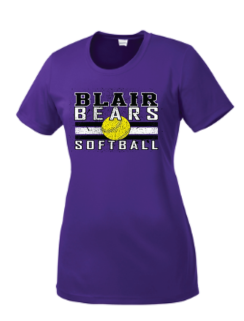 Item 18: Ladies Short Sleeve Dri-Fit | Purple