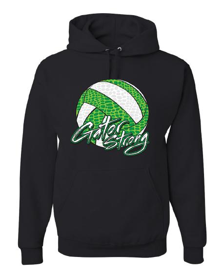 Hooded Sweatshirt | Charcoal or Black