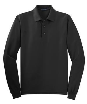 K500LS Men's Long Sleeve Silk Touch Polo