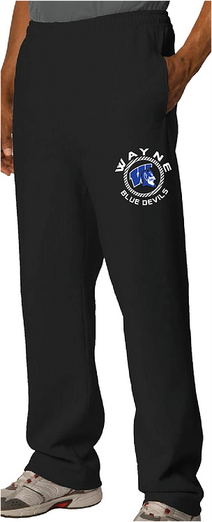 974MP JERZEES OPEN BOTTOM SWEATPANT