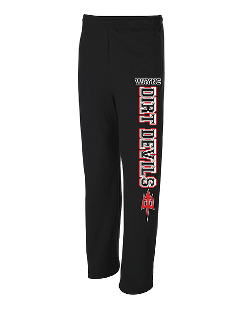 DD | Adult/Youth Open Bottom Sweatpant