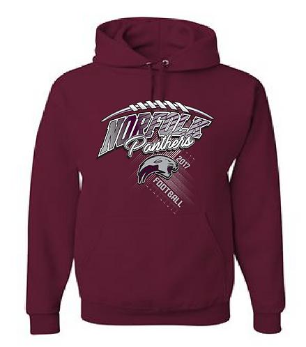 Hooded Sweatshirt | Maroon