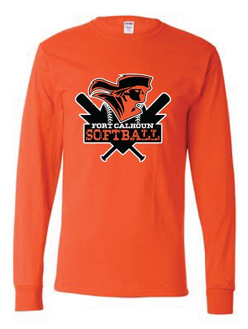 Long Sleeve T-Shirt  | Orange