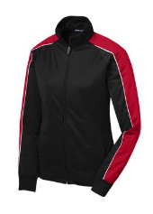 Sport-Tek Ladies Piped Tricot Track Jacket / LST92