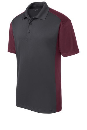 ST652 Sport-Tek Colorblock Micropique Polo