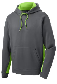 Sport-Tek® Sport-Wick® Fleece Colorblock Hooded