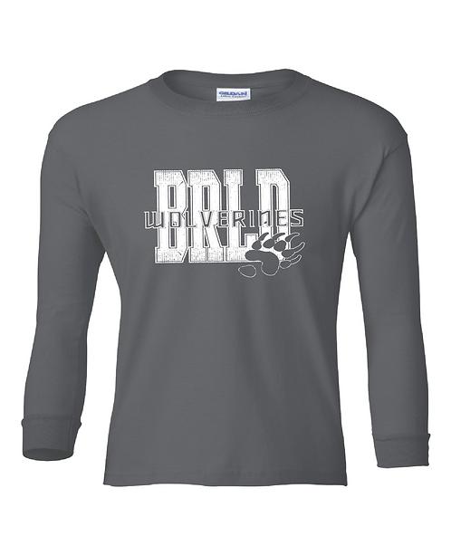 BRLD | Youth long sleeve tee
