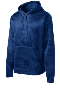Sport-Tek® Sport-Wick® CamoHex Fleece Hooded