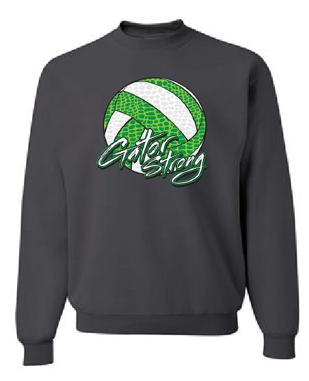 Crew Sweatshirt   Black or Charcoal