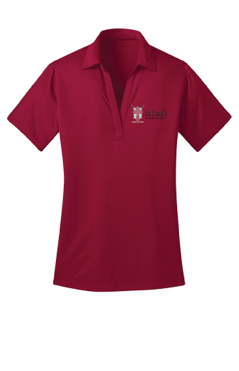 St. Paul's | L540 Ladies Silk-touch Performance Polo