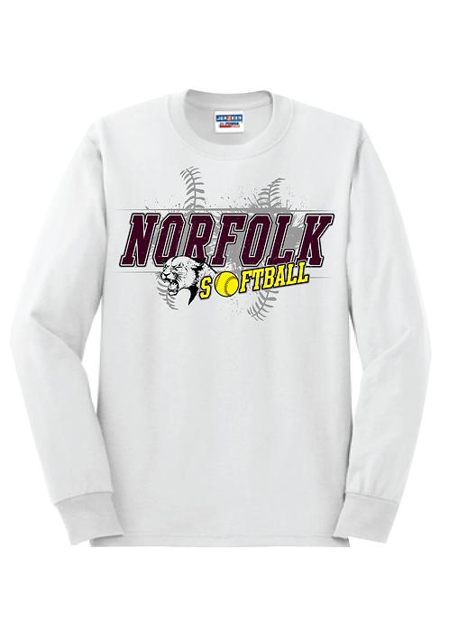 Norfolk Softball | Long Sleeve T-Shirt