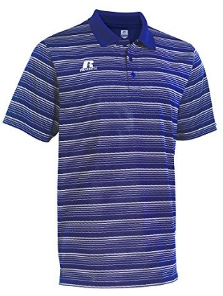 Russell Athletic Striped Golf Polo // 830GLMK