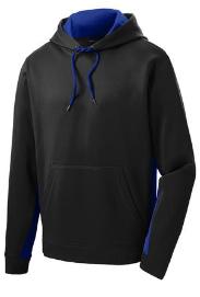Sport-Tek® Sport-Wick® Fleece Colorblock Hoodie